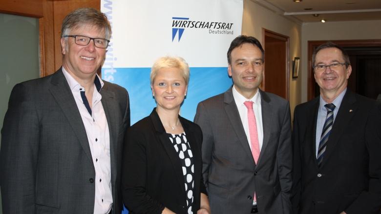 Anke Fuchs-Dreisbach zu Gast beim CDU-Wirtschaftsrat in Siegen.