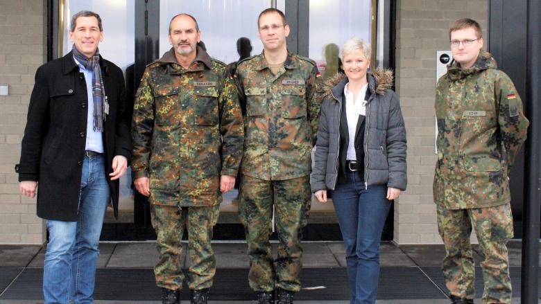 Besuch der Luftwaffe in Erndtebrück