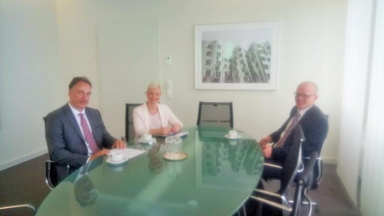 Anke Fuchs-Dreisbach im Gespräch mit der SMS group