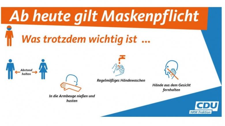 Maskenpficht in NRW