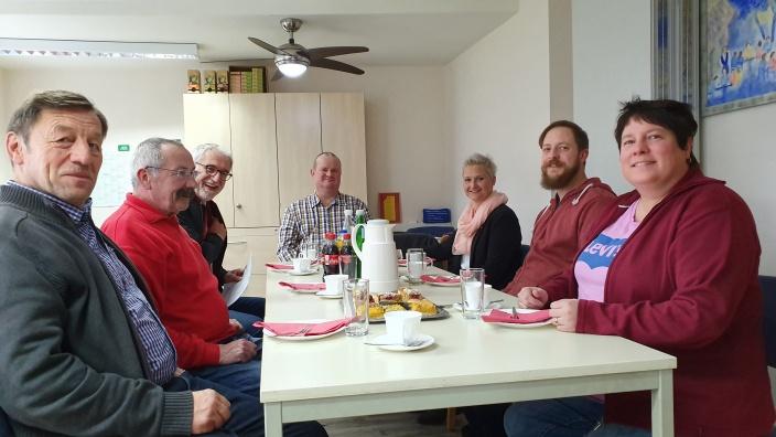 Gesprächsrunde zum Thema Pflege