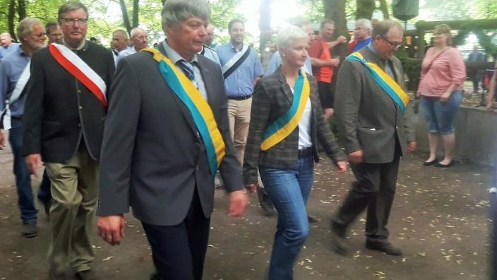 Anke Fuchs-Dreisbach als Ehrengast auf dem Stünzelfest