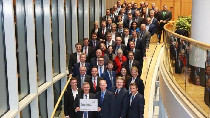 CDU-Landtagsfraktion zum Start des Azubitickets