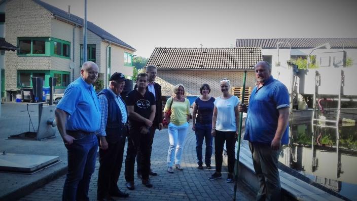 Besuch der Kläranlage Bad Berleburg mit dem CDU-Stadtverband.
