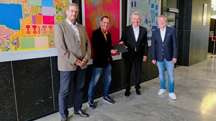 2,2 Millionen Euro für Gründungsprojekt EnableUS an Uni Siegen