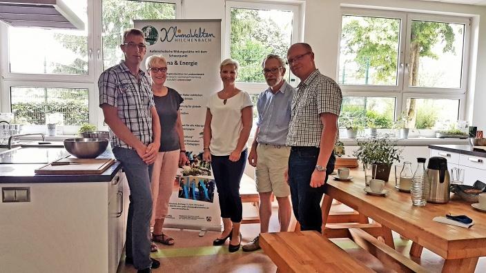 Anke Fuchs-Dreisbach zu Gast bei den KlimaWelten in Hilchenbach.