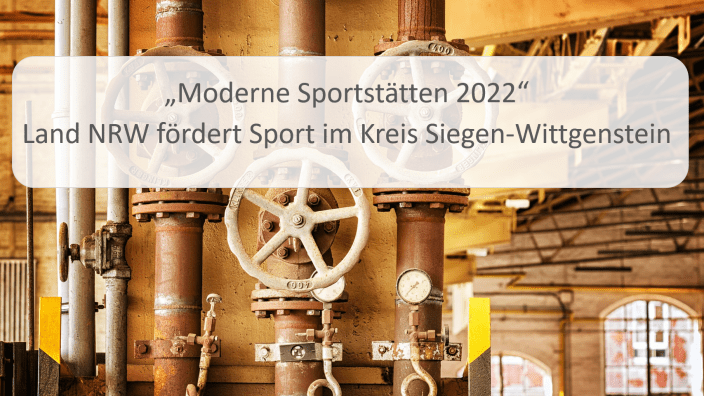 Moderne Sportstätte 2022: Neue Heizungsanlage für zwei Vereine