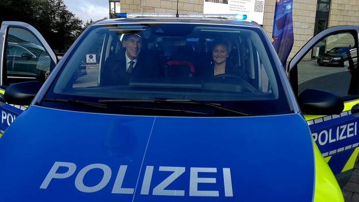 Neue Streifenwagen für NRW