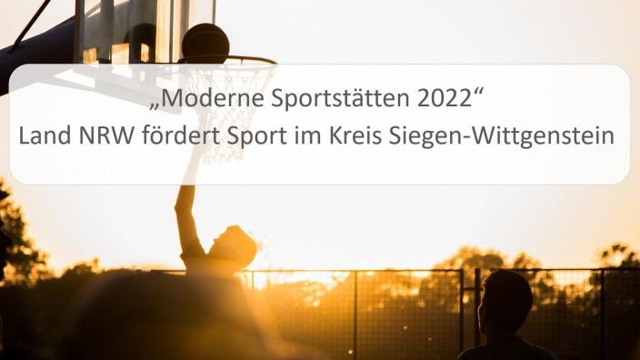 Fördermittel für Sportstätten in Siegen-Wittgenstein