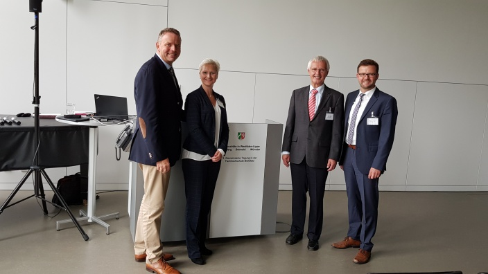 Anke Fuchs-Dreisbach bei der Tagung der Westfälischen Regionalräte