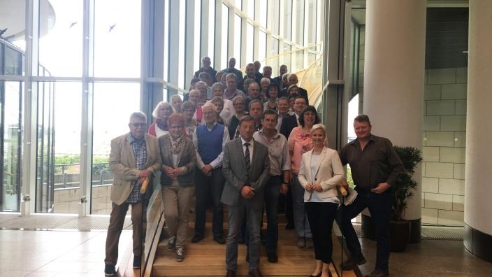 Siegen-Wittgensteiner zu Gast im Landtag