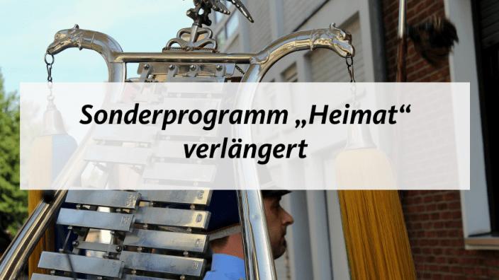 Sonderprogramm Heimat verlängert