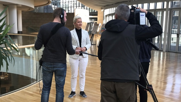 WDR Interview zur KAG Diskusson