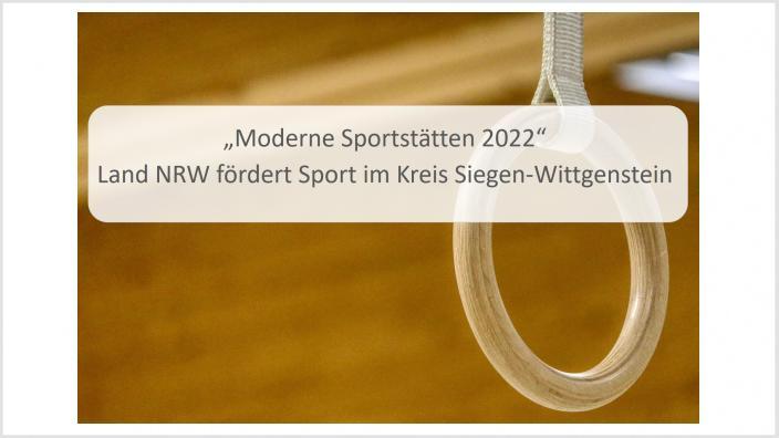 Moderne Sportstätte 2022 TuS 1910 Niederlaasphe e.V.