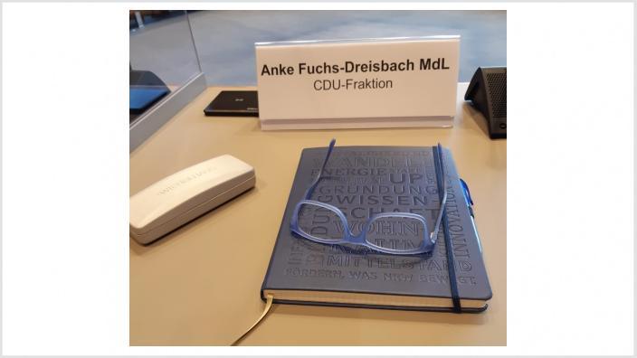 Landtagsarbeit Anke Fuchs-Dreisbach