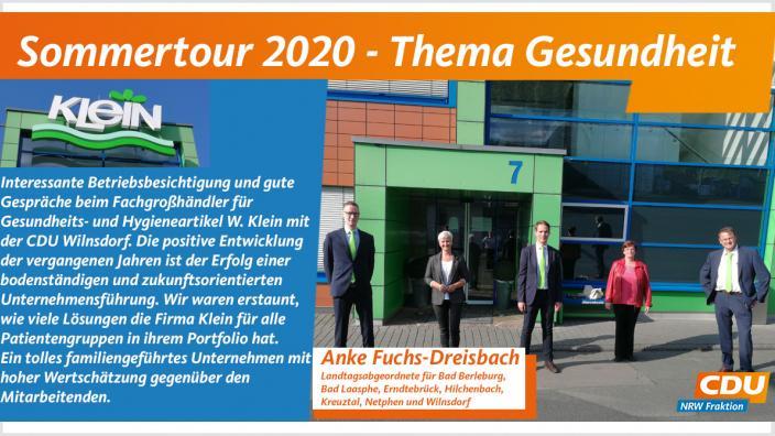 Sommertour bei Wilhelm Klein in Wilnsdorf