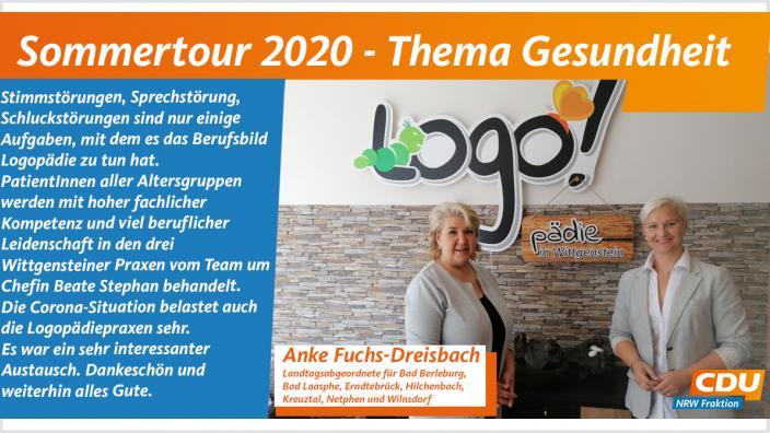 Sommertour zum Thema Gesundheit bei Logopädie in Wittgenstein